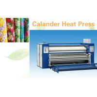 Quality Flatbed Textile Calender Machine Heat Press Machine With 1800 Kg Weight for sale