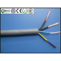 Quality Round Cable for Electrical Apparatus RVV 4Cx1.5sqmm with CE certificate in Grey Color for sale