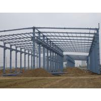 Quality modular warehouse building prefabricated light steel structure shed for sale