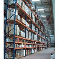 Quality Vertical Storage Rack Selective Pallet Racks Anti-rust , Heavy duty for sale