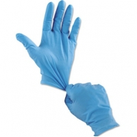 China Powder Free FDA Approved Nitrile Medical Examination Gloves on sale
