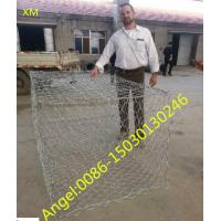 Quality Hexagonal Galvanized Gabion Box Stone Cage Mesh for philippines market for sale