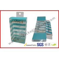 Quality PETG / PVC Plastic Clamshell Packaging box with hanger , plastic gift boxes for sale