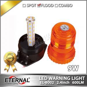Quality 9W LED beacon strobe emergency light amber flash pattern for sale
