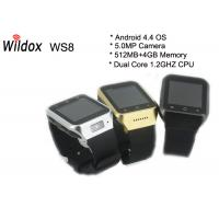 China 3G GSM Mobile Watch Phone Touch Screen With GPS Navigation on sale