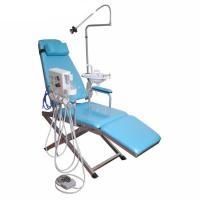 Quality GM-C008 Luxury Type Foldable Dental Patient Chair With Portable Turbine Unit for sale