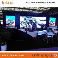 Quality JEKAZ Full color Chip SMD P7.62 indoor fixed Led Display Screen for business advertising use for sale
