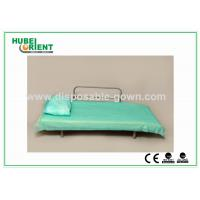 Quality Blue Disposable Non Woven Bed Sheets for Hospital Clinic Beauty Center Use for sale