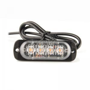 Quality 8W LED strobe light amber safety Emergency Warning Light Bulb for truck trailer ag vehicles heavy duty for sale