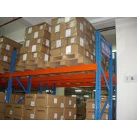Quality customized metal havey duty double deep pallet rack with Forklift working for sale