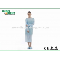 Quality Single Use Thumb Cuffs Long Sleeves CPE Material Gown For Cleanroom for sale