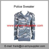 Quality Wholesale Cheap China Military Navy Blue Camouflage Army Sweater for sale