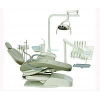 Quality AL-388SB Dental Chair Unit Rotated Glass Spittoon For Left Hand Beige Painting for sale
