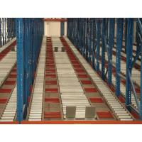 Quality Adjustable Selective live pallet storage gravity flow shelving for Production assembly line for sale