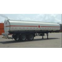Buy Customized Petrol Tank Semi Trailer , Gas Tank Trailer ISO Standard at wholesale prices