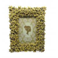 """Quality Blossom Floral Decorative Antique Style Photo Frames Rectangle Widen Border 4x4 """" for sale"""
