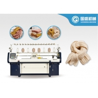 Quality Textile Double System Jacquard Scarf Knitting Machine for sale