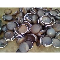 WPB Beveled Carbon Steel Pipe Caps , 6'' End Caps For Steel Tubing