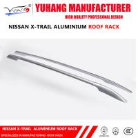 Quality C057 HIGH QUALITY ROOF RAILS SIDE RAILS FOR NISSAN X-TRAIL ALUMINIUM ALLOY 2016 SILVER for sale