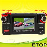 China F20 dual lens hot sell car dvr on sale