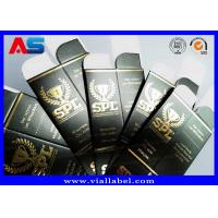 Buy cheap Winstrol Tablets Paper Square Box Printing Stamping Goid Foil Embossed / from wholesalers