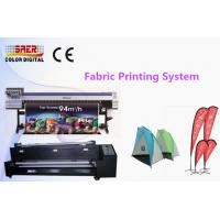 Quality High Resolution Mimaki Textile Printer Flag Printing Machine Roll To Roll Type for sale