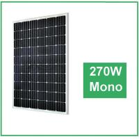 UV Resistant Silicon Mono Crystal Solar Panel , Transparent Solar Panels For Farm