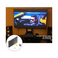 Quality XYSCREEN Fresnel Projection Screen UST ALR Projector Screen Fixed Frame Zero Edge 100 inch for sale