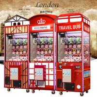 Quality 1 Player Coin Operated Crane Game Machine / Gift Vending Toy Claw Machine for sale