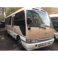 Quality TOYATO Used Coaster Bus Diesel 6 Cylinder Engine Made 2002 With Good Mileage for sale