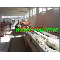 Quality Co - Extrusion Type PVC Profile Extrusion Line With 37kw Motor for sale