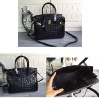 Quality 30cm 35cm high quality women alligator cowskin european brand purse L-RB35 for sale