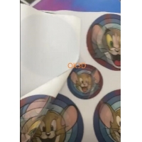 Quality 3D LENTICULAR soft printing picture flexible 3d flip zoom morph motion animation lenticular printing service for sale
