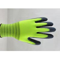 Quality Sandy Finish Nitrile Coated Gloves Nylon Knitted Ultimate Close Fitting for sale