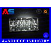 Quality Clear PVC Plastic Packaging Trays For Vaccines Vials 2mL / 3mL with Embossing Logo for sale