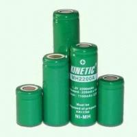 Quality NiMH Battery of Size 7/5 AA with Capacity of 1,800mAh and Various Rechargeable Battery for sale
