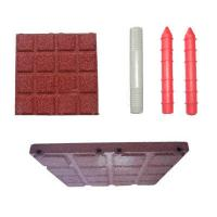 Buy cheap Children Playground Rubber Safety Tile Mats , Rubber Surfacing For Playgrounds from wholesalers