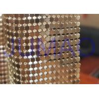 Quality 3 Mm Dark Gold Metal Flake Fabric Shrink Proof Interior Decoration Table Cloth for sale