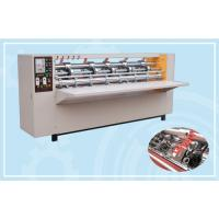 Quality Clapboard Thin Blade Slitter Scorer Machine / Slitter Cutter Creaser CE Approved for sale