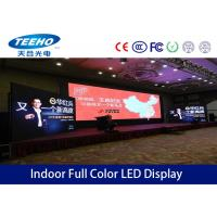 Quality Super Slim P7.62 Indoor Rental LED Display Advertising For Television Relay , 300Hz - 1000Hz for sale