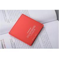 Quality Light Red Square Power Bank 3000mah Biscuit Shape CE Certification for sale