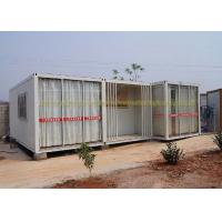 Quality 20Ft / 40Ft Container House Folding Container Homes Cold Formed Steel Profile for sale