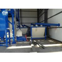 Quality Spiral Powder Screw Conveyor 4KW Power Concrete Continuous Running for sale