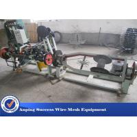 China Horizontal Design Barbed Wire Machine / Single Twisted Machine 3kw Motor on sale