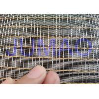 Quality Customized Size Laminated Screen Mesh Decorative Glass Metal Mesh Fabric for sale