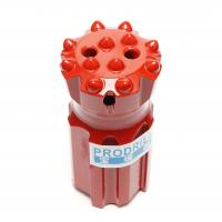 Quality T45-76mm Threaded Button Drill Bits Superior Drilling Performance With 14 Buttons for sale