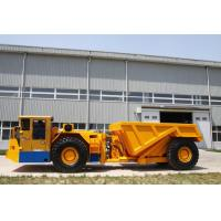 Buy cheap RT-30 Ton Low Profile Dump Trucks For Underground Mining With DANA Torque from wholesalers