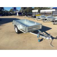 Quality 6X4 Hot Dipped Galvanised Single Axle Trailer 750KG for sale