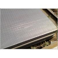 Quality Galvanized ASTM JIS DIN Steel Diamond Plate Sheets With Raised Surface Dimple for sale