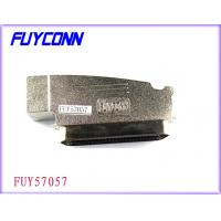Quality Amphenol 957 100 Pin Centronics Connector Male Plug IDC Type With Zinc Cover for sale
